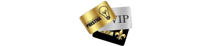 Carte PVC Prestige