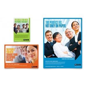 250 flyers  Format 10x21 cm 135 gr imp Recto