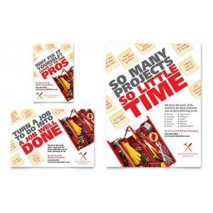 250 flyers  Format 10x15 cm 135 gr imp Recto/verso