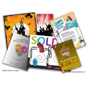 4000 flyers  Format 15x21 cm 135 gr imp Recto/verso