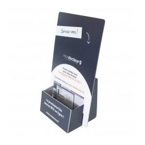 100 présentoir carton format 21x29.7x5 cm