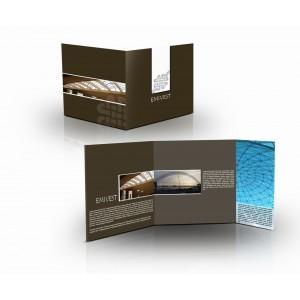 100 brochures A5 fermé 12 pages