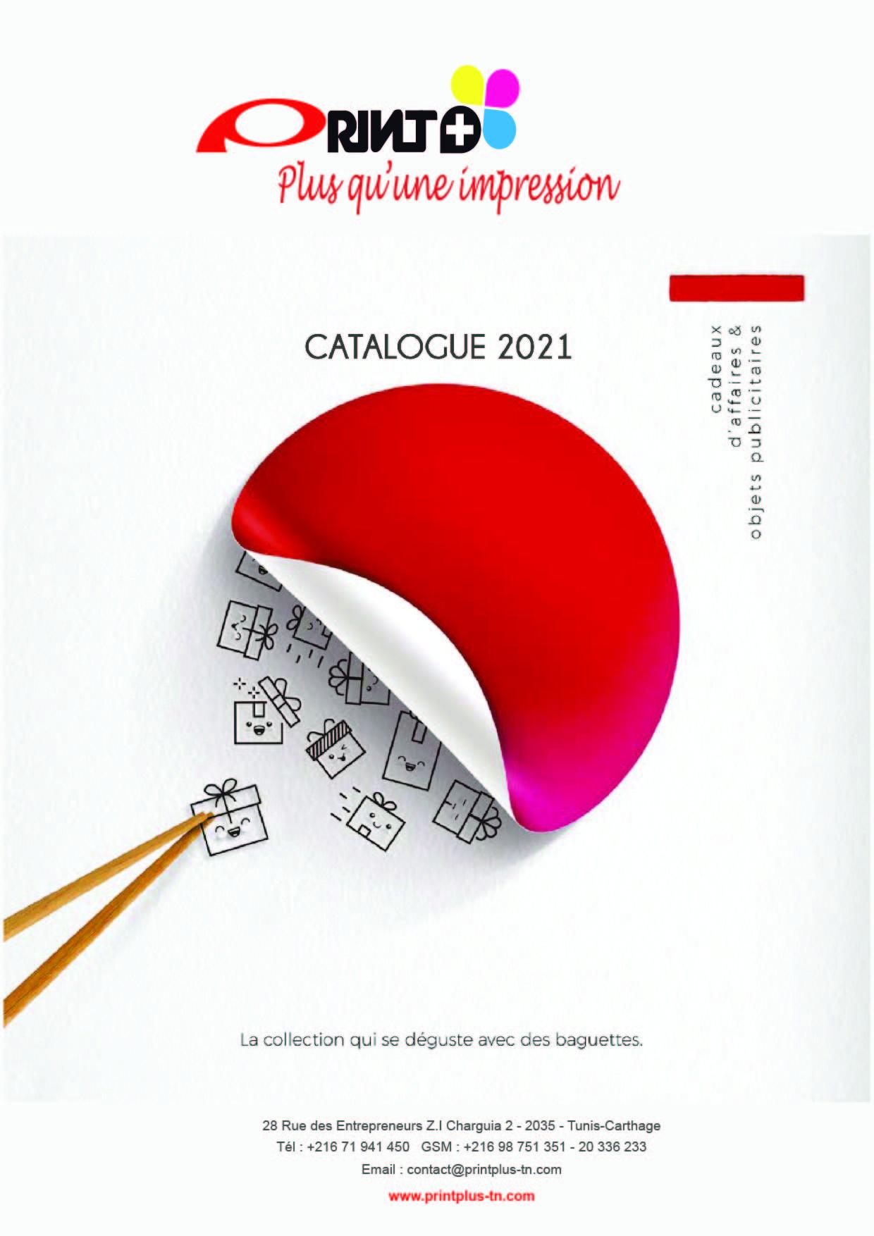 Catalogue 2021 Articles Publicitaires & Cadeaux PrintPlus